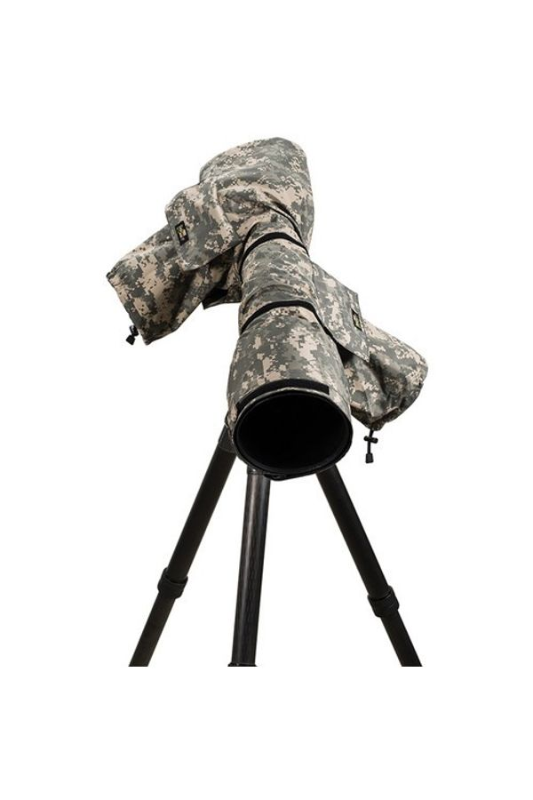 LensCoat RainCoat 2 Pro Camera Cover (Digital Camo)