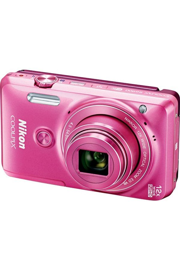 Nikon COOLPIX S6900 Digital Camera (Pink)