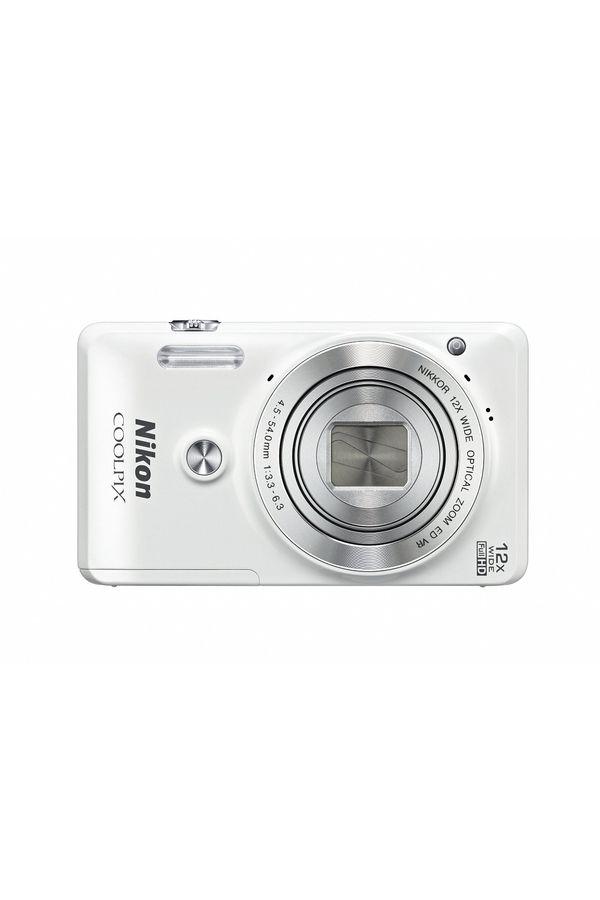 Nikon COOLPIX S6900 Digital Camera (White)