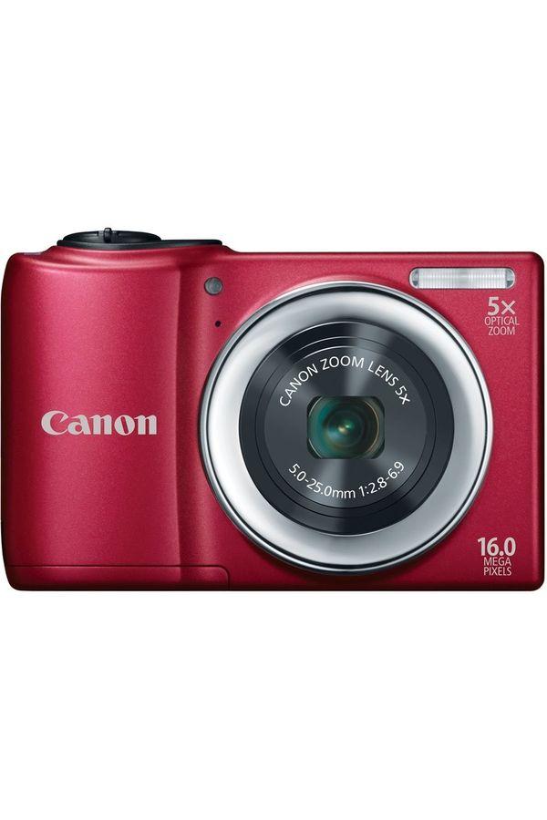 Canon PowerShot A810 Digital Camera (Red)