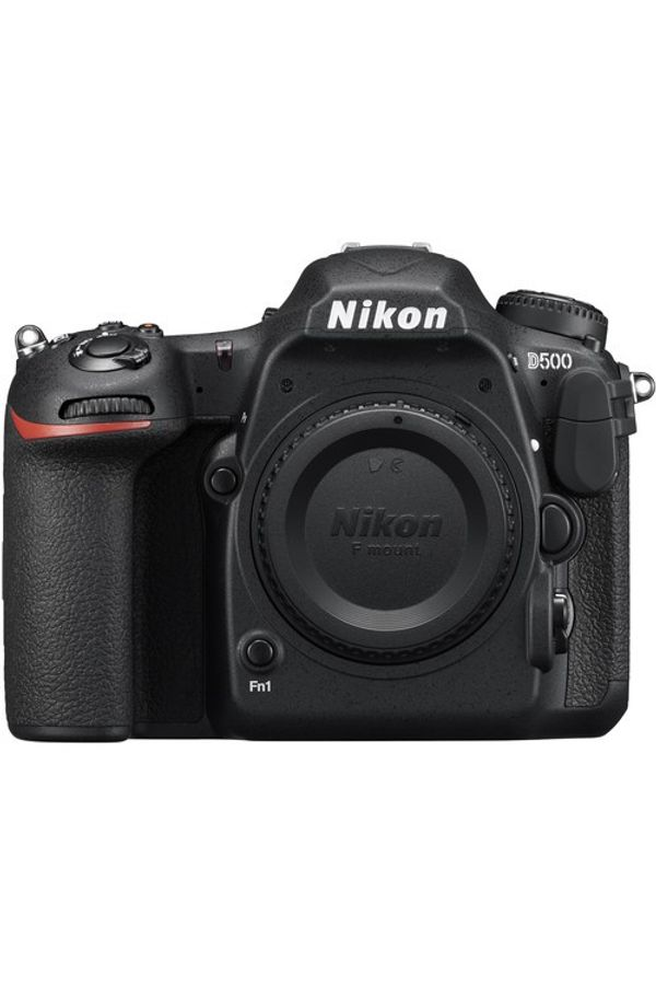 Nikon  D500 body with 64 GB High Speed SD card & D-SLR bag