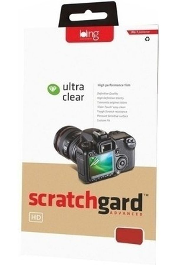 Scratchgard Screen Guard for Canon - EOS 600D