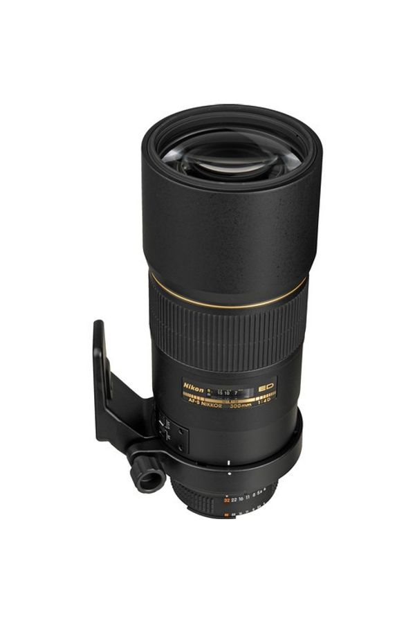 Nikon AF-S Nikkor 300mm f/4D IF-ED Lens (Black, Telephoto Lens)