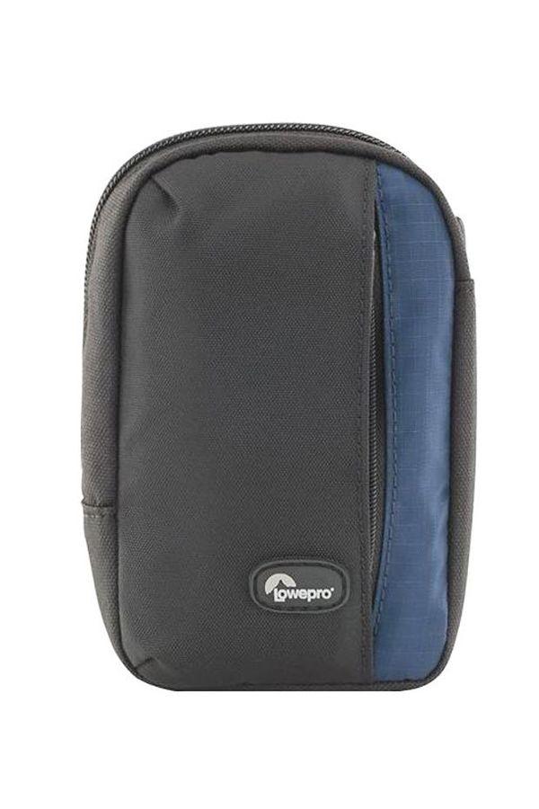 Lowepro Newport 30 Camera Pouch (Black/ Galaxy Blue)