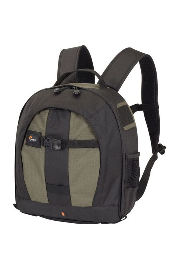 Lowepro Pro Runner 200 AW Backpack (Black and Pine Green)