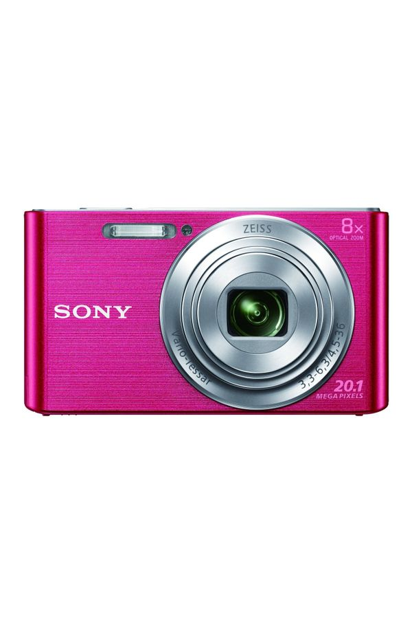 Sony CyberShot DSC W830 20.1 MP Point and Shoot Camera (Pink)