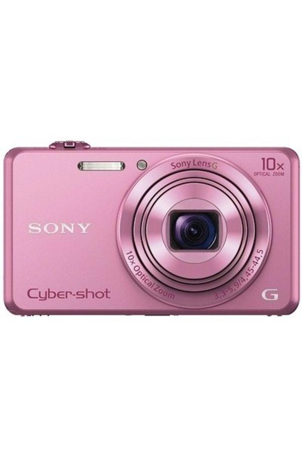 Sony Cyber-shot DSC-WX220 Point & Shoot Camera(Pink)