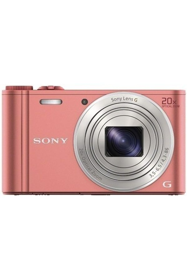 Sony DSC-WX350 Point & Shoot Camera (Pink)