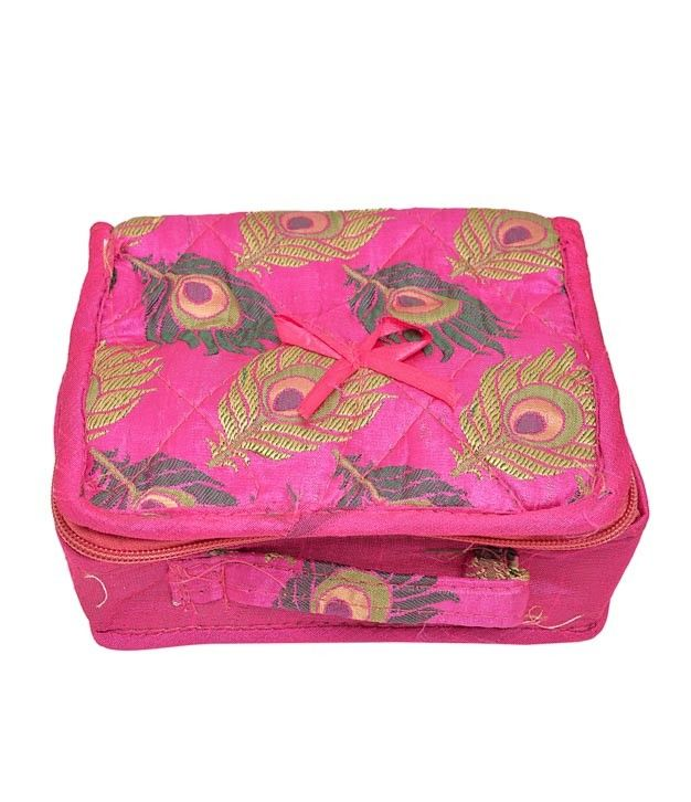 Adorable Pink Jewellery Pouch or Jewellery Case