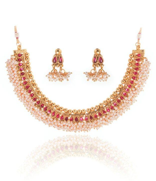 Baahubali Wonderful Designer Necklace Set