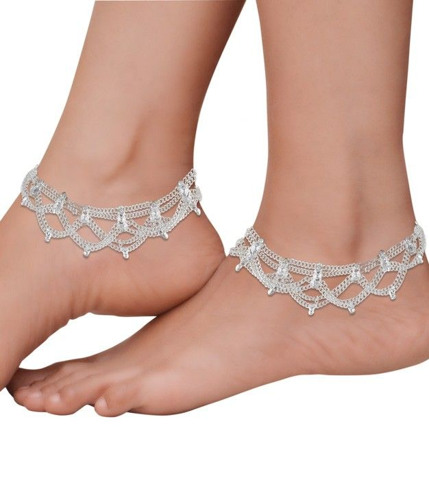Beautiful Ankle Chains in a Layered Design