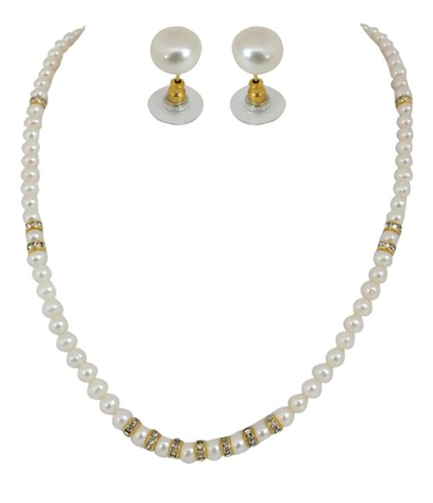 Nifty Designer Pearls Necklace Set
