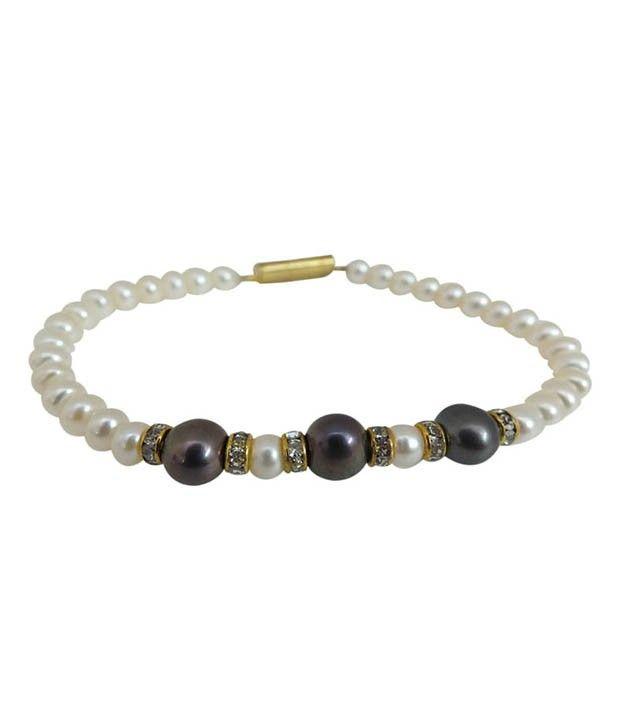 Elegant Black Pearl Bracelet