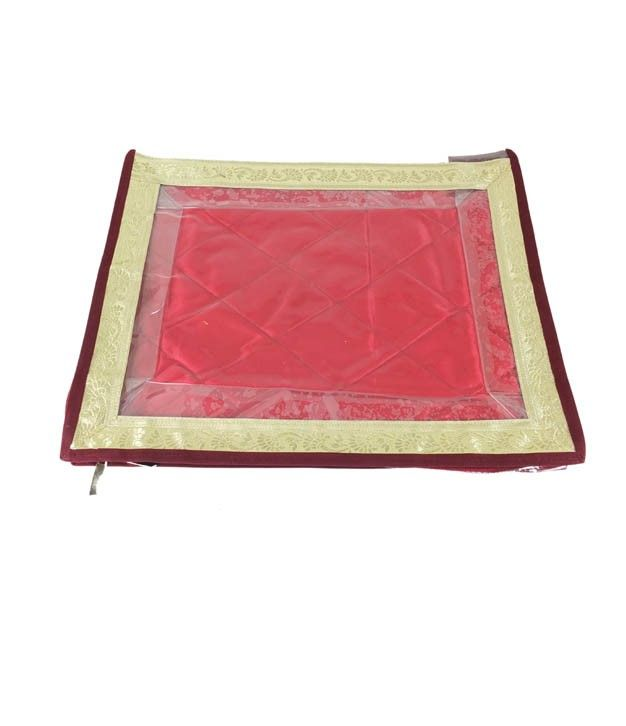 Saree Cover With Golden Border