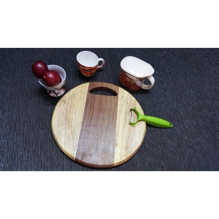 Onlineshoppee Sheesam &  Pine  Wood Best Quality Kitchen Chopping Board  Size(LxBxH-12x12x1) Inch