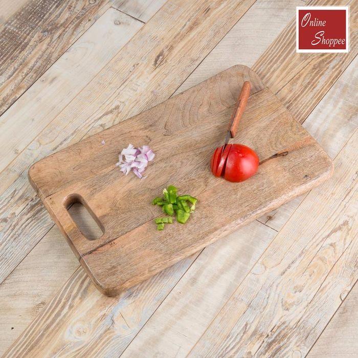 Onlineshoppee  Wood Best Quality Kitchen Chopping Board  Size(LxBxH-15x10x1) Inch