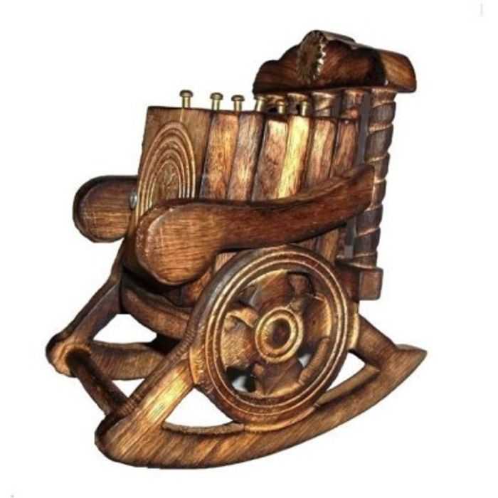 Onlineshoppee Wooden Chair Coaster Set