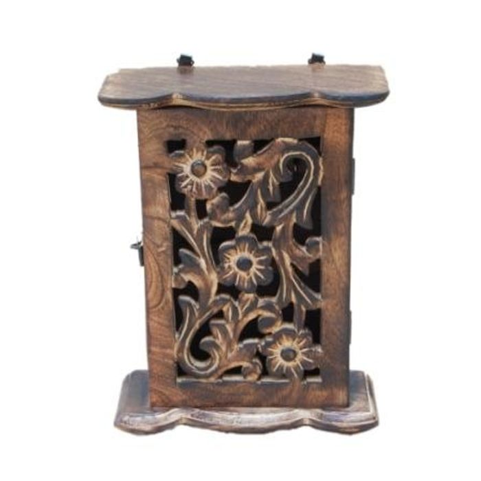 Wooden Antique Key Box