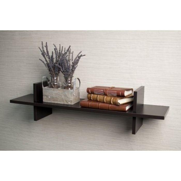 Onlineshoppee Home Decor Premium Solid Wood Shelf Rack Wall Bracket  handicraft design.