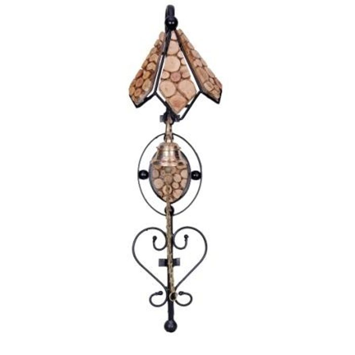 Onlineshoppee Beautiful Design Wooden Door Bell
