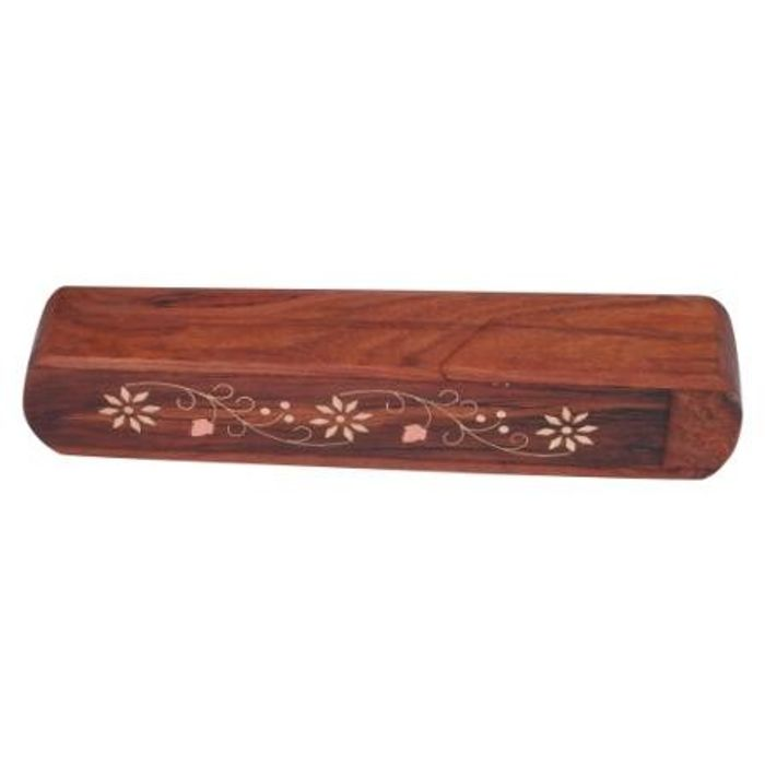 Onlineshoppee Wooden Pencil Box Stationery Holder