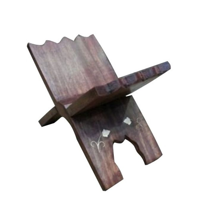 Wooden Baby Book Stand