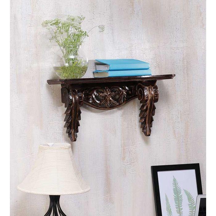 Onlineshoppee Beautiful wooden  New Fancy wall bracket