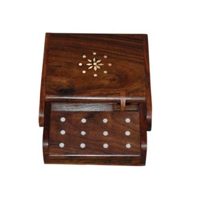 Antique wooden cig. dispenser