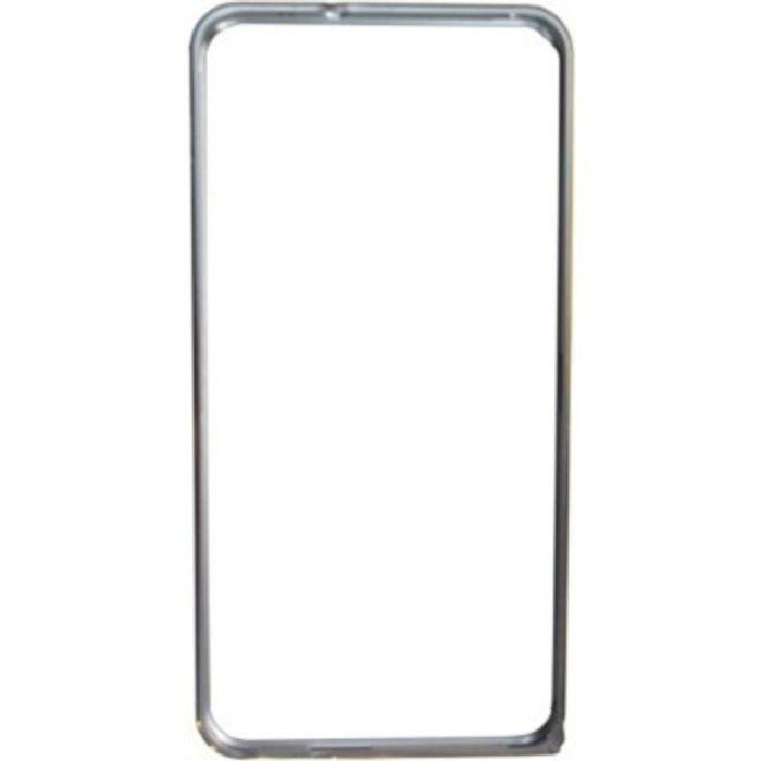 Samsung galaxy Note 2 Silver Color Metal Bumper Case Cover