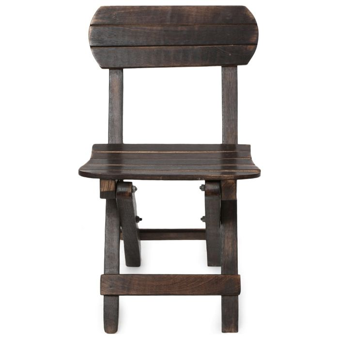 Onlineshoppee Antique Child's Mango Wood Chair Size(LXBXH-10x14x24)  inch