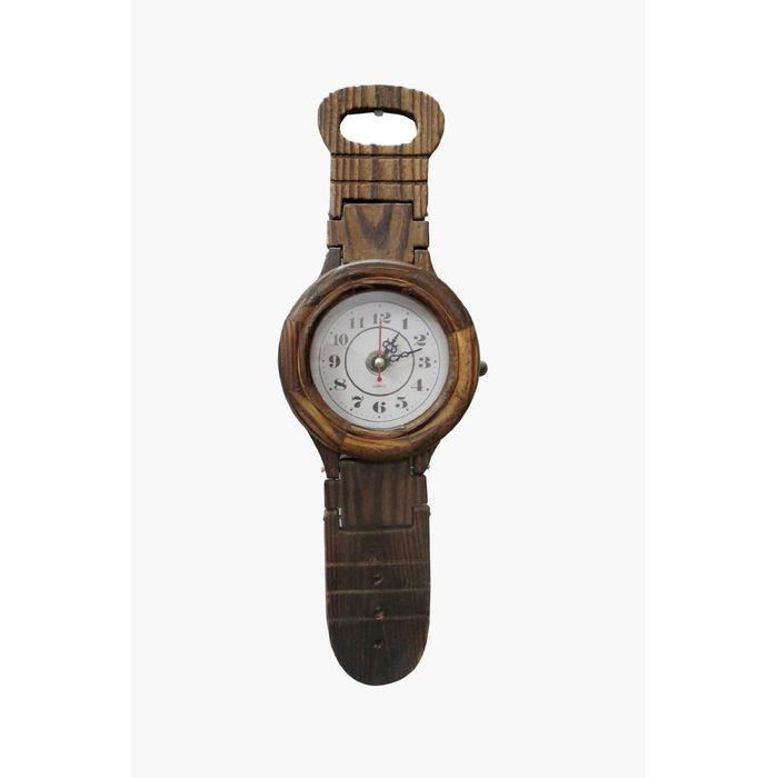 Wooden Belt Shape Clock