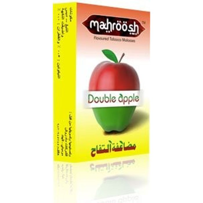2 Double Apple Flavour for Hookah / Hukka / Hookha,2 FREE Coal