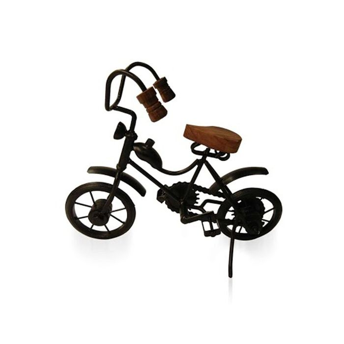 Wooden & Iron Motor Cycle Antique Home Decor Product