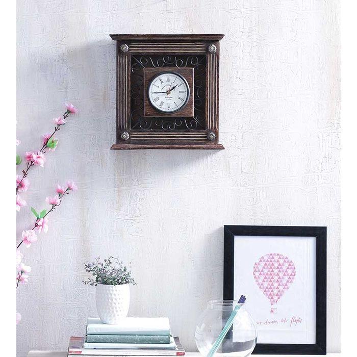 Handmade Wooden Vintage Wall Clock