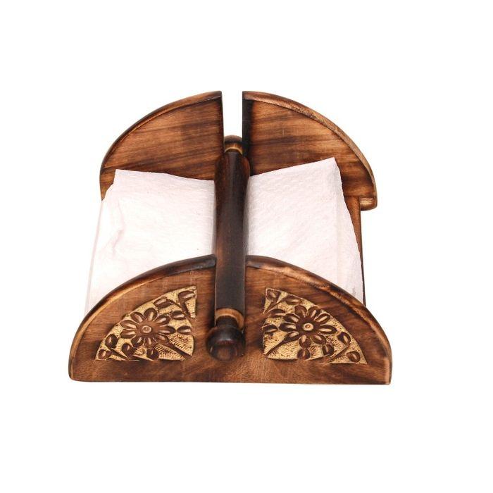 Antique Handcrafted Tissue Holder