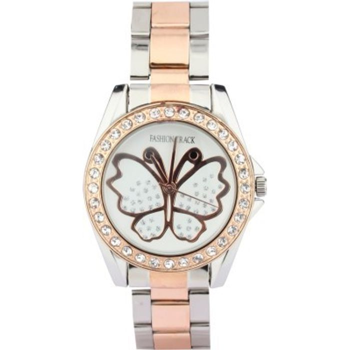 Optima FT-8172-09/05-LDTT Fashion Track Analog Watch - For Girls