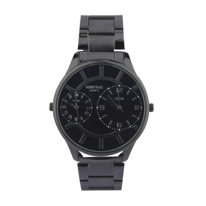 Optima FT-8352-DUAL-GBBK Fashion Track Analog Watch - For Men