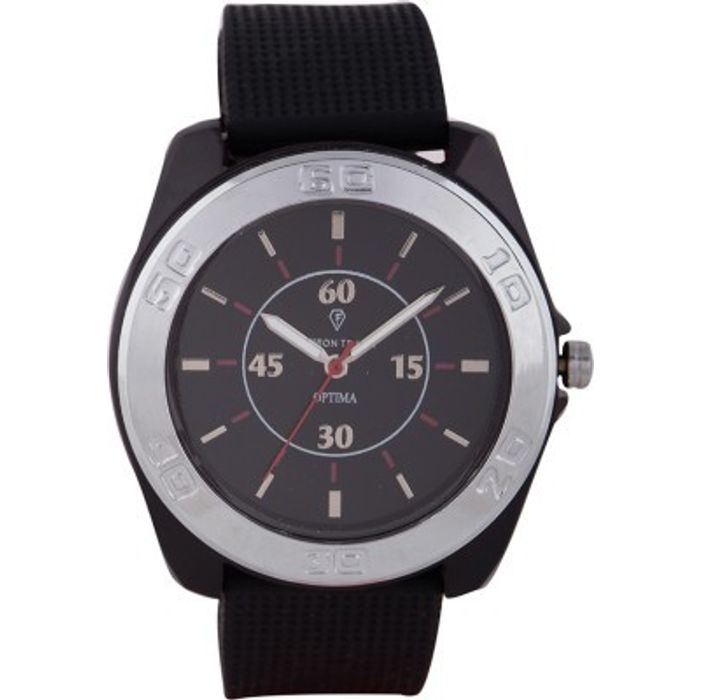 Optima FT-ANL-2482 Fashion Track Analog Watch - For Men
