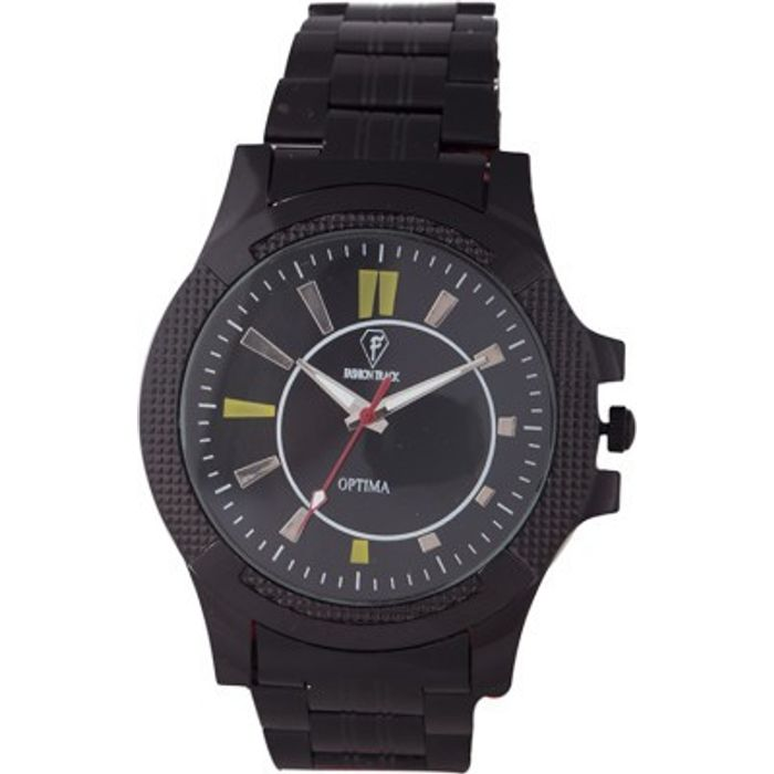 Optima FT-ANL-2495 Fashion Track Analog Watch - For Men
