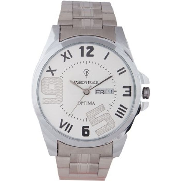 Optima FT-ANL-2502 Fashion Track Analog Watch - For Men