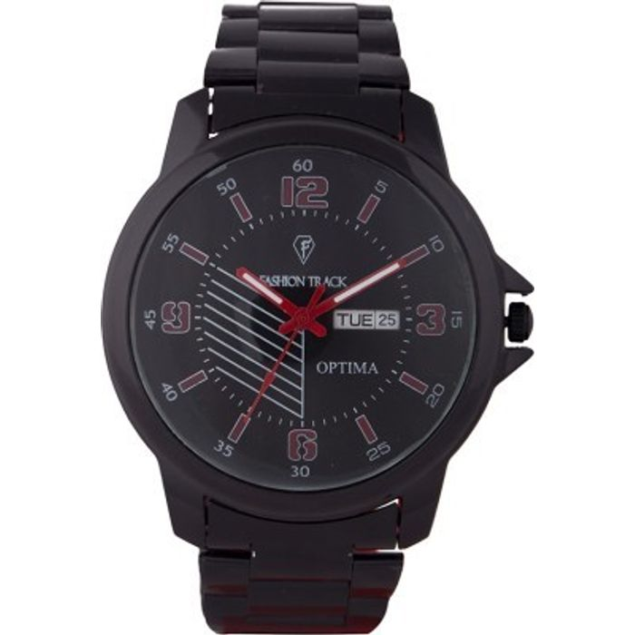 Optima FT-ANL-2507 Fashion Track Analog Watch - For Men