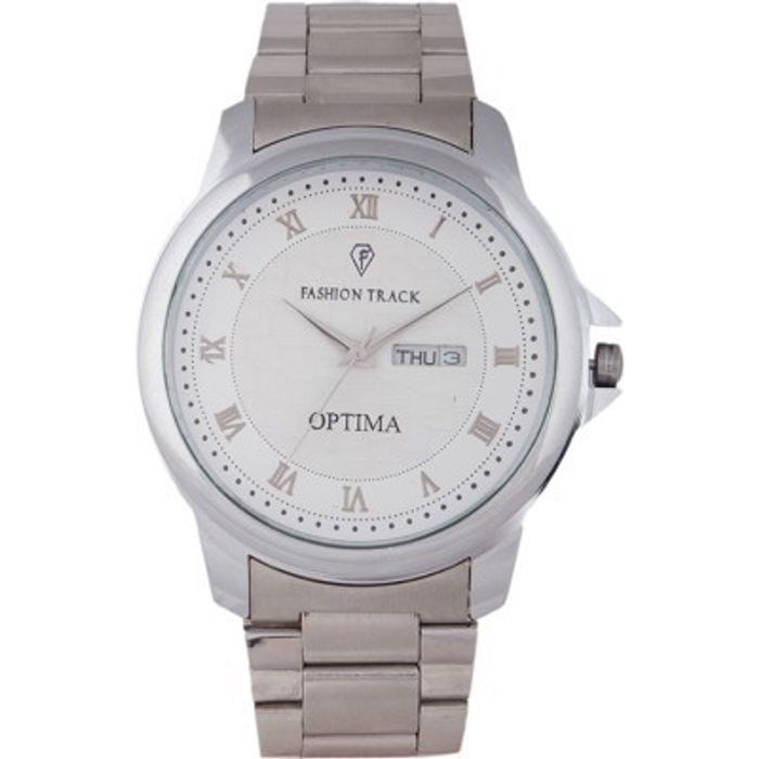 Optima FT-ANL-2508 Fashion Track Analog Watch - For Men