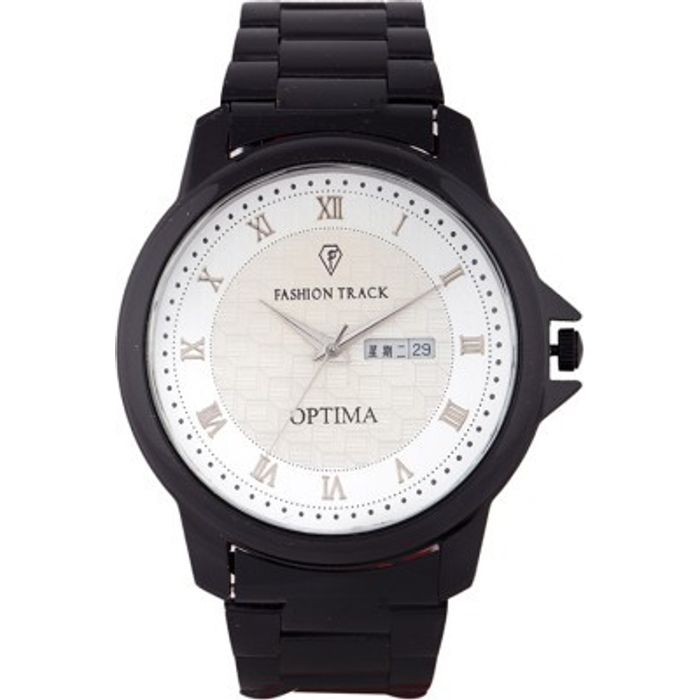 Optima FT-ANL-2509 Fashion Track Analog Watch - For Men