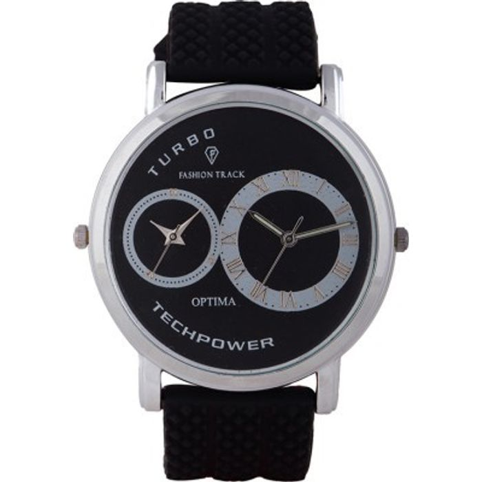 Optima FT-ANL-2522 Fashion Track Analog Watch - For Men