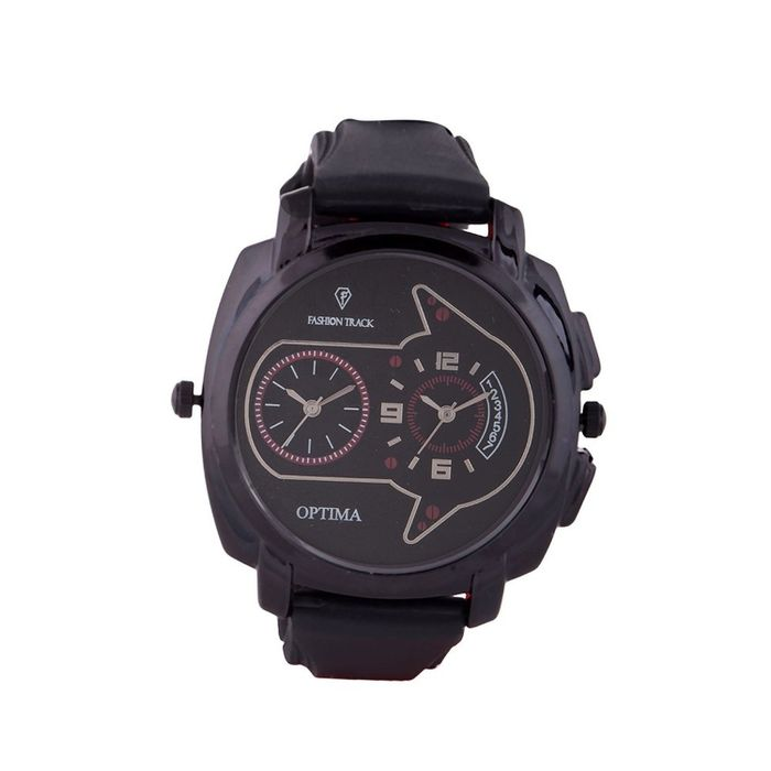 Optima FT-ANL-2533 Fashion Track Analog Watch - For Men
