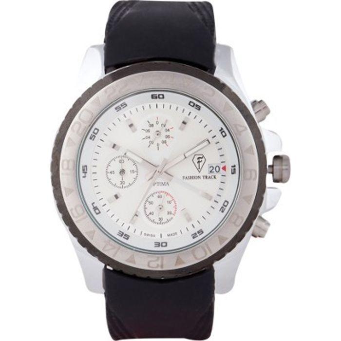 Optima OFT-2439 SG Fashion Track Analog Watch - For Men