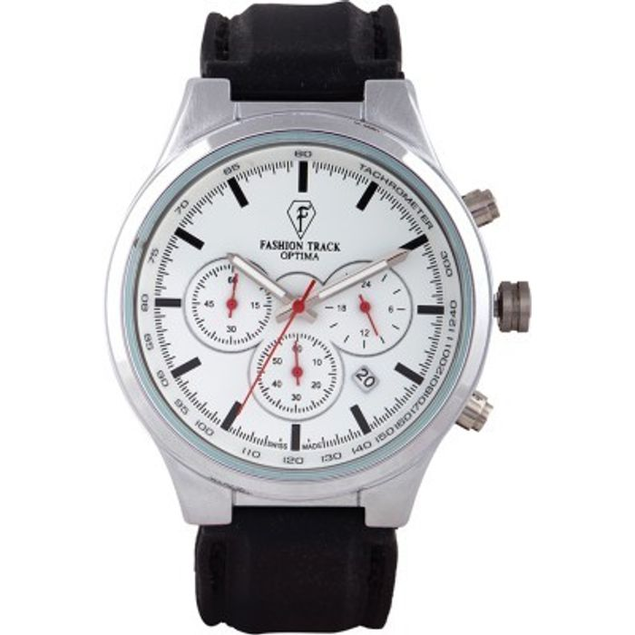 Optima OFT-2461-SS Fashion Track Analog Watch - For Men