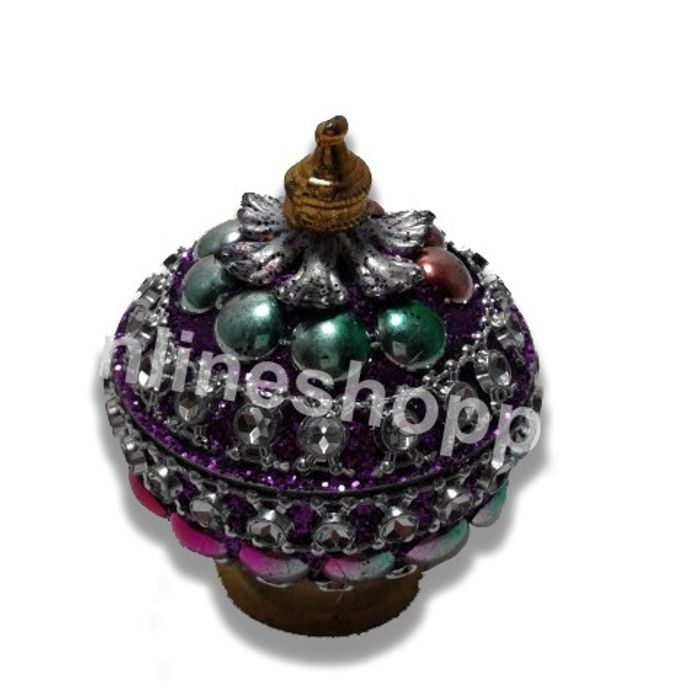 OnlineShoppee  Colorful Decorative Sindoor Dibbi