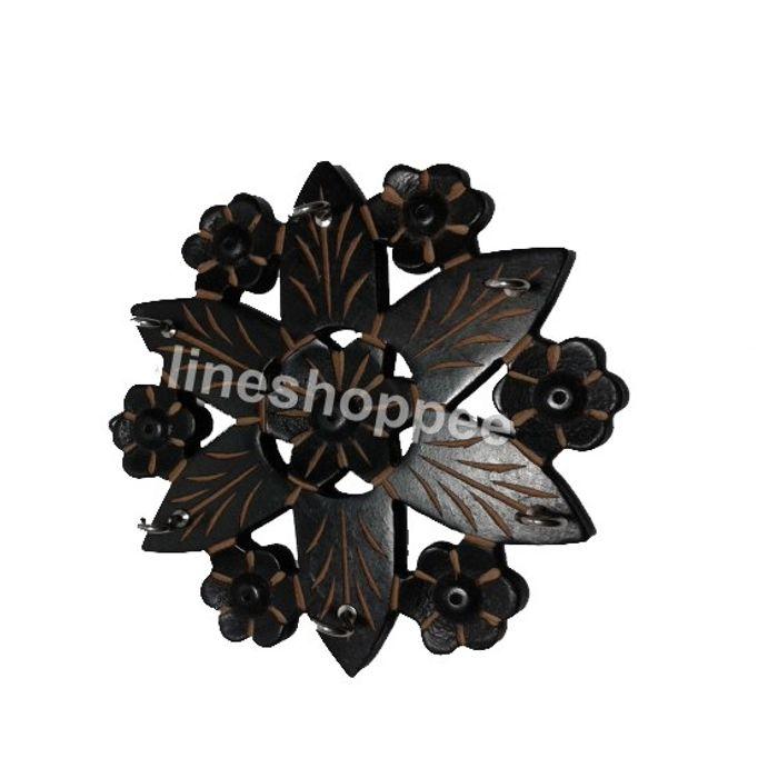 Wall Decor Key Holder Flower Design