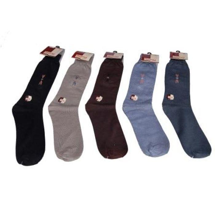Onlineshoppee Premium Design Quality Woolen Long Socks For Men Set of 5